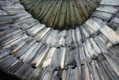 Bordi di legno anziani Fotografia Stock Libera da Diritti