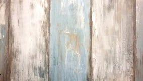 Bordi di legno, bianco e blu nel retro stile, vecchio fondo dei bordi Fotografia Stock