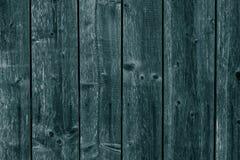 Bordi Di Legno Blu Scuro E Verdi Plance Superficie Di