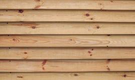 Bordi di legno del pino Fotografie Stock