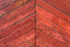 Bordi di legno diagonali del fondo vecchi Retro struttura per progettazione Immagini Stock