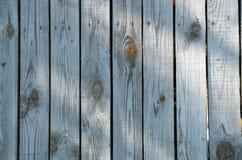 Bordi di legno grigi lunghi d'annata Fotografia Stock Libera da Diritti