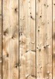 Bordi di legno rustici verticali Fotografia Stock