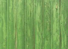Bordi di legno verdi a stile christmassy Immagini Stock