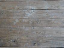 Bordi di piattaforma sporchi Fotografia Stock
