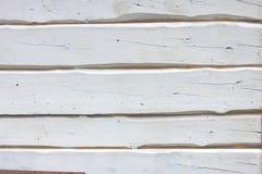 Bordi dipinti bianco Fotografia Stock