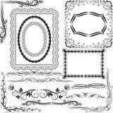 Bordi ed angoli illustrazione di stock