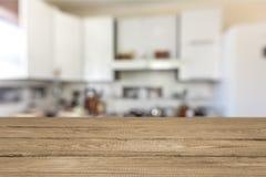 Bordi marroni di legno con spazio Fotografia Stock