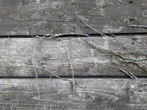Bordi scuri anziani Fotografia Stock Libera da Diritti