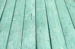 Bordi verdi di legno immagine stock