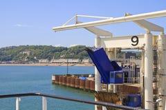 bording的多弗英国港口 库存图片