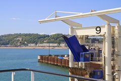 Bording at Dover harbour england Stock Images