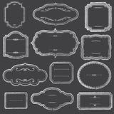 Bordkaders en Ornamenten vector illustratie