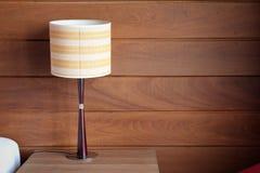 Bordlägga lampan Fotografering för Bildbyråer