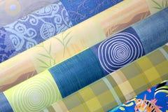 Bordlägga torkdukar - tarpaulin Fotografering för Bildbyråer