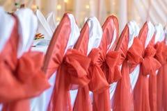 Bordlägga uppsättningen för att gifta sig eller andra den skötte om händelsematställen Arkivfoto
