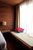 Sängrum Arkivfoto