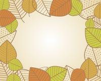 Bordo 2 di autunno Immagini Stock