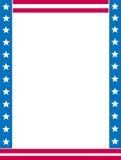 Bordo/angolo patriottici Immagine Stock Libera da Diritti