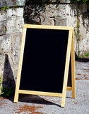Bordo antiquato del menu Fotografie Stock Libere da Diritti