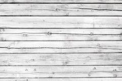 Bordo anziano dipinto con pittura bianca Struttura di legno bianca, fondo fotografia stock libera da diritti