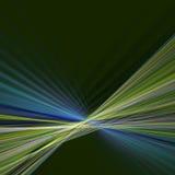 Bordo astratto di verde blu illustrazione vettoriale