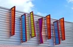 Bordo attraente Colourful Fotografia Stock Libera da Diritti