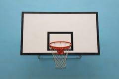 Bordo bianco di pallacanestro Fotografie Stock Libere da Diritti