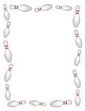 Bordo/blocco per grafici di bowling royalty illustrazione gratis