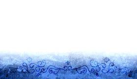Bordo blu Fotografie Stock Libere da Diritti