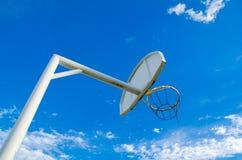 Bordo & cerchio di pallacanestro Immagine Stock Libera da Diritti