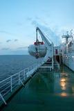 A bordo de uma balsa Imagens de Stock