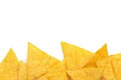 Bordo dei chip di tortiglia Fotografia Stock
