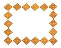 Bordo dei cracker Fotografie Stock Libere da Diritti