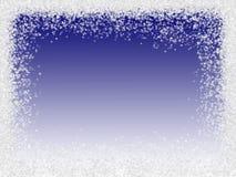 Bordo dei fiocchi di neve illustrazione vettoriale