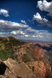 Bordo del canyon Immagini Stock