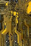 Bordo del circuito integrato Fotografia Stock Libera da Diritti