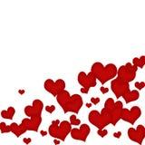 Bordo del cuore Immagini Stock