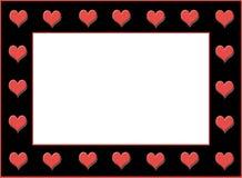 Bordo del cuore Immagine Stock Libera da Diritti