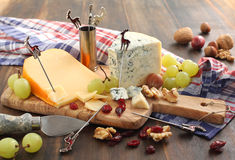 Bordo del formaggio fotografia stock