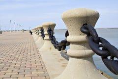 Bordo del lago Erie fotografia stock libera da diritti