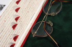 Bordo del libro Fotografia Stock
