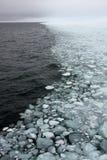 bordo del Mare-ghiaccio Fotografia Stock