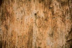 Bordo del metallo con superficie arrugginita Immagini Stock