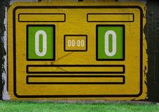 Bordo del punteggio Illustrazione di Stock