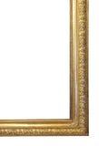 Bordo del vecchio oro Fotografia Stock Libera da Diritti