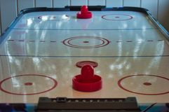 Bordo dell'hockey dell'aria fotografia stock libera da diritti