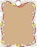 Bordo dell'osso di cane Immagine Stock