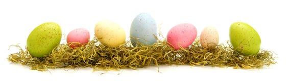 Bordo dell'uovo di Pasqua Fotografie Stock Libere da Diritti
