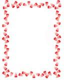 Bordo della caramella del biglietto di S. Valentino Immagini Stock Libere da Diritti